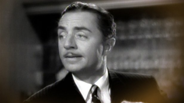 "William Powell as Nick Charles in the ""The Thin Man."""