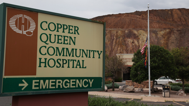 Copper Queen Emergency spotlight