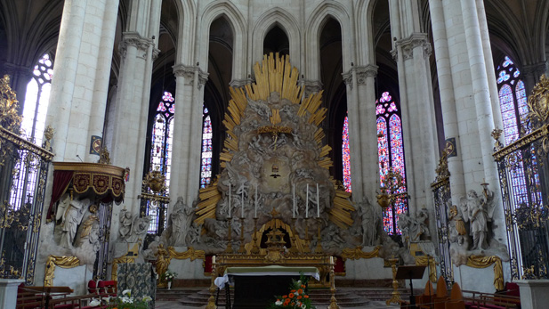 Altar in Amiens Cathedral