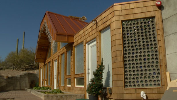 "Pima County's first Earthship is ""landing"" in southwest Tucson, Arizona!"