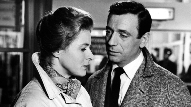 Ingrid Bergman and Yves Montand