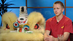 Jackson Veneklasen of the Tucson Chinese Cultural Center talks about their 2012 New Year's festival, in which he will perform in an elaborate Chinese lion costume.