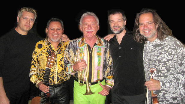 Doc Severinsen and his newest group, the San Miguel 5, play a show with the Tucson Symphony on January 14th