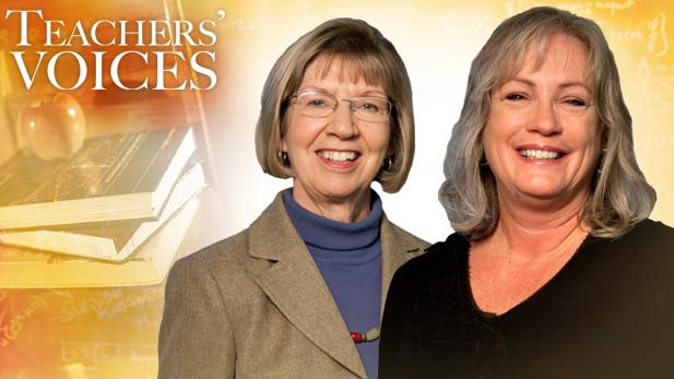 """Teachers' Voices"" second season premieres with a conversation between friends and former educators Pam Simon and Jane D'Amore."