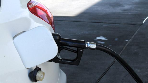 Stock Gas Pump Car Spotlight