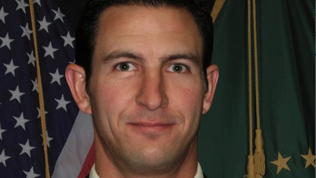 U.S. Border Patrol Agent Nicholas Ivie, who was killed outside of Bisbee Tuesday.