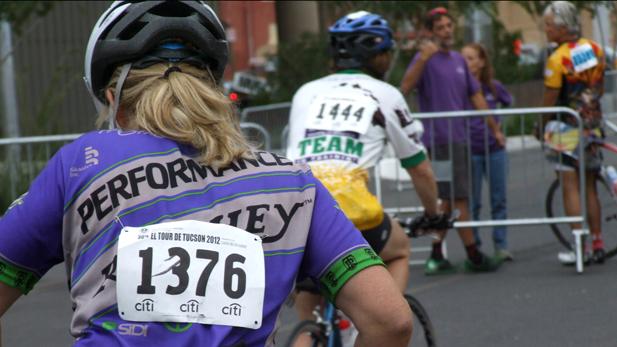 Rebecca Brukman. 11/26/12. Contestants participate in annual El Tour De Tucson bike race.