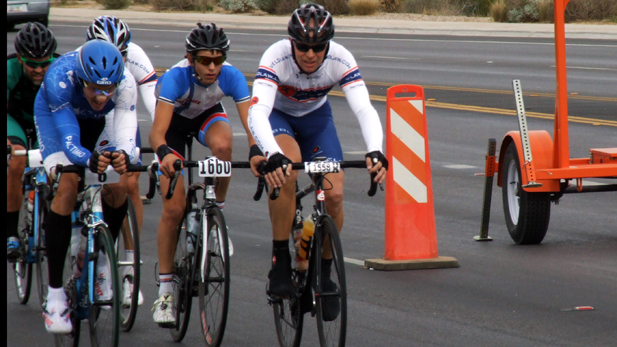 Stock El Tour De Tucson Bikers Action Spotlight
