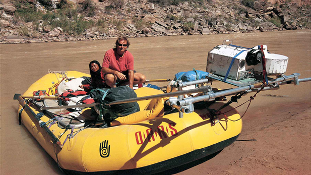 Author Wade Davis on the Colorado River