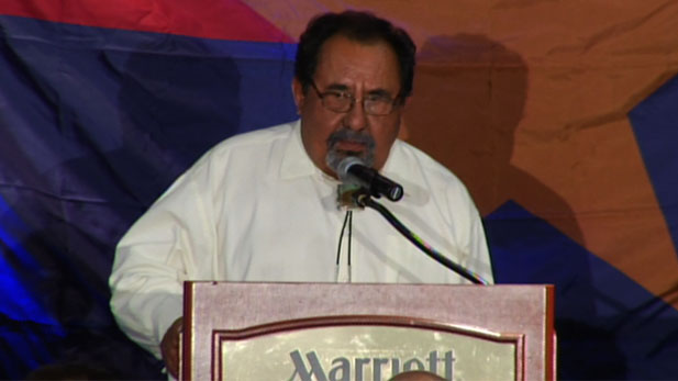Grijalva speaks about his victory.