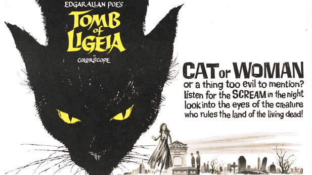tomb of ligeia black cat poster spotlight
