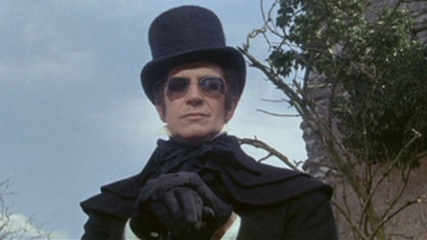 "Vincent Price stars as eccentric nobleman Verden Fell for  director Roger Corman in the 1964 film ""Tomb of Ligeia"", inspired by Edgar Allan Poe"