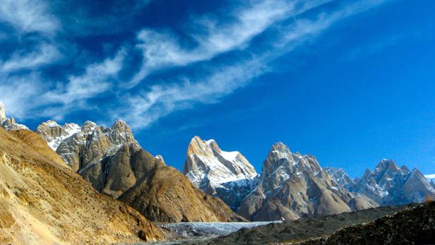 "Karakoram mountain range featured in NATURE ""The Himalayas."""