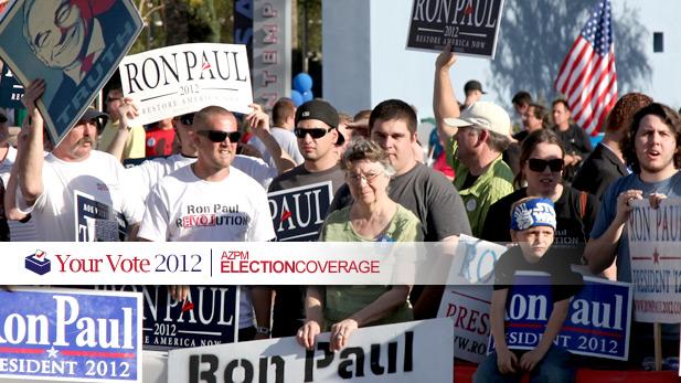 GOP debate political signs