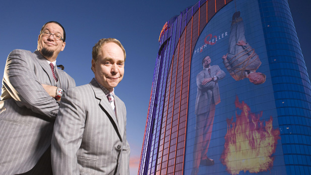 penn and teller vegas spotlight