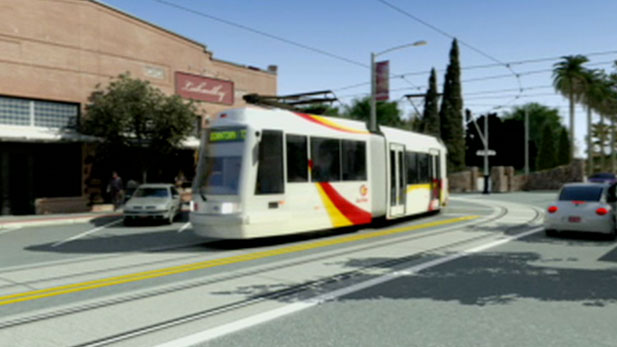 Regina Romero from the Tucson City Council and Carlos de Leon from the Regional Transportation Authority provide an update on the status of the light rail coming to Tucson's University and downtown.