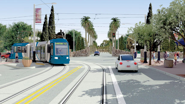 Jesse Gutierrez of the Tucson Department of Transportation updates us on the construction dates and expectations of the Modern Streetcar project.