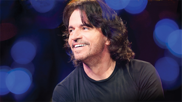 Yanni performs at the historic 16th-century Castillo San Felipe del Morro in San Juan, Puerto Rico, fulfilling a 20-year-old dream.