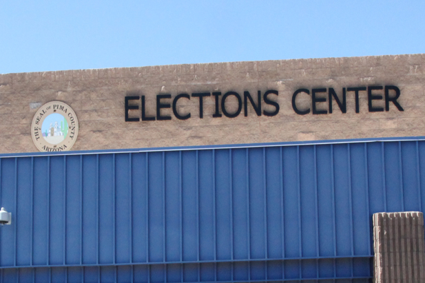 The Pima County Elections Center is located near the airport.