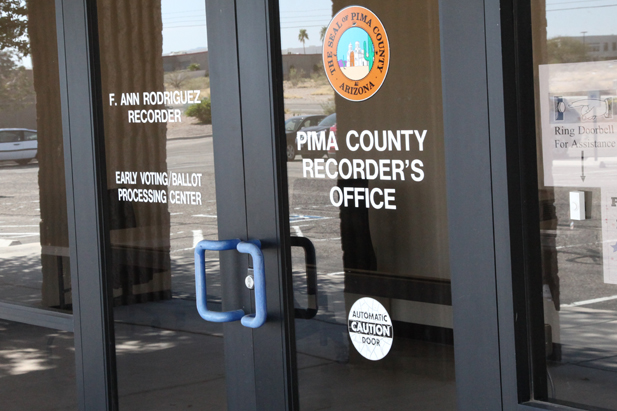 Pima County votes are counted at the elections office.