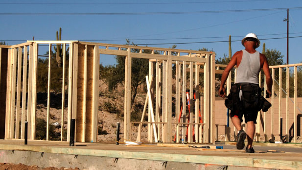 Construction employment is down by nearly half in the Tucson area in the last decade.
