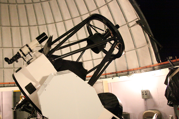 "The 32"" Schulman Telescope on Mt. Lemmon manages nightly viewing programs less than 20 miles from Tucson."