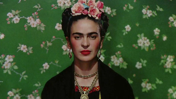 Artist Frida Kahlo.