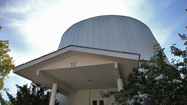 Flagstaff's Lowell Observatory, where Pluto was discovered in 1930.