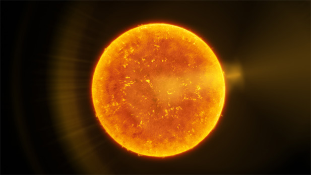 At 93 million miles the Sun is our nearest star. Now with new technology, solar scientists are seeing it as never before.