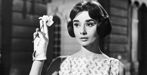 Hepburn starred in Love in the Afternoon