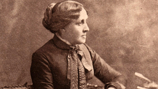 Louisa May Alcott, the celebrated author of Little Women
