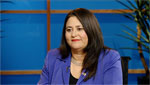 Lea Marquez-Peterson, head of the Hispanic Chamber of Commerce, addresses some of the economic implications of the nations changing demographics.