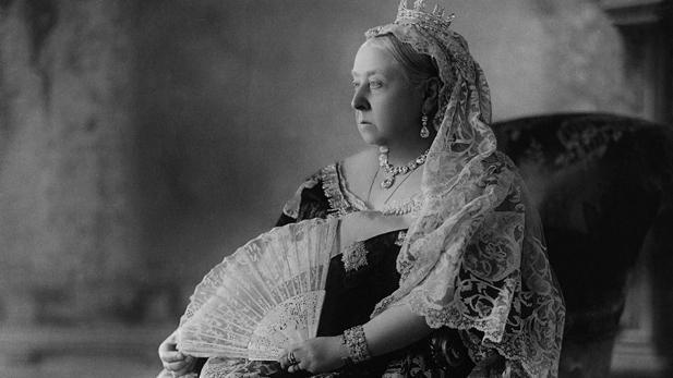 Queen Victoria at age 78. The photo was taken in 1897, the year of her Diamond Jubilee.