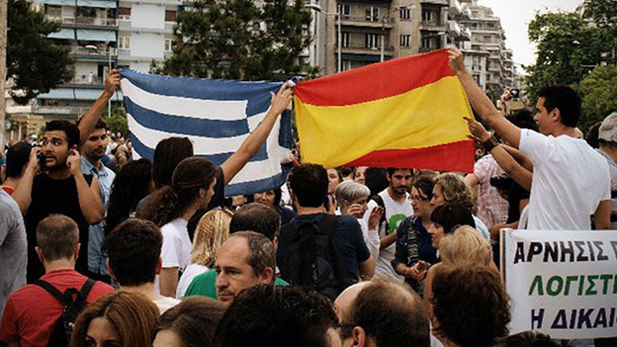 Former citizen of Greece and UA Doctoral Student George Papadimitrou talks about the most recent political and financial turmoil in Greece that is part of the larger bailout dilema in Europe.