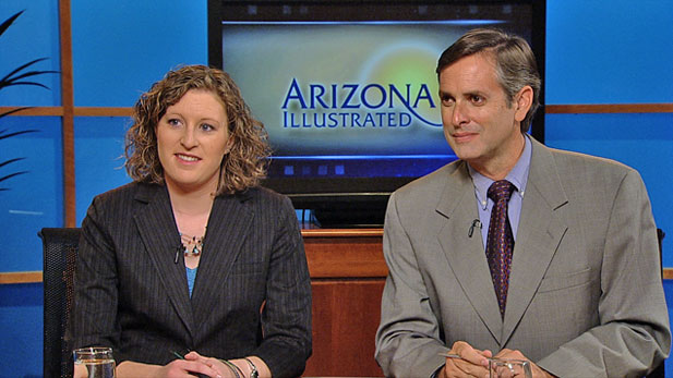 Political reporters Andrea Kelly (left) and Christopher Conover (Right) break down the last week before the election.