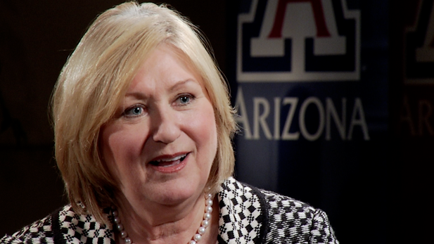University of Arizona President Ann Weaver Hart.
