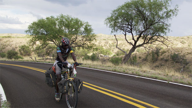 "Elvis Munis, an Activist for ""Chile to Kili"", is traveling around the world in an effort to raise funds for young people in the African country of Tanzania."
