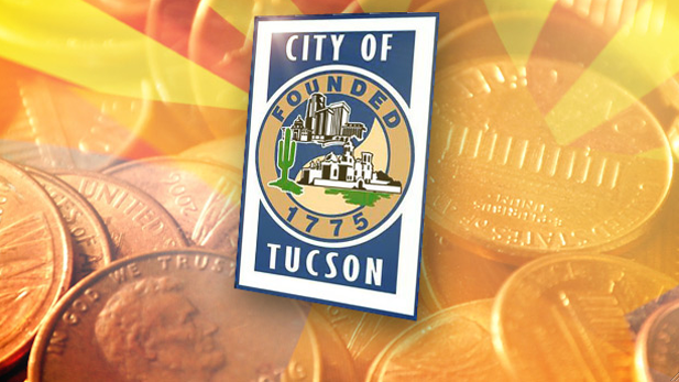 City of Tucson seal penny spot