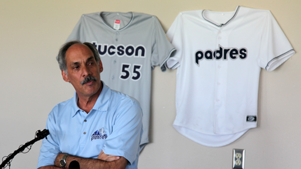Mike Feder Tucson Padres staying spotlight