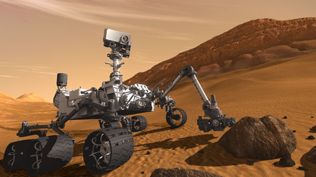Professor William Boynton, PhD and Assistant Professor Shane Byrne, PhD, both scientists from the Department of Planetary Sciences talk about the Curiosity Rover that is scheduled to land on Mars in August and the free open house  on Saturday, July 28th that The University of Arizona's Lunar and Planetary Laboratory will be hosting.