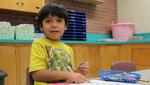 Isael Sanchez, at the Jump Start summer program.