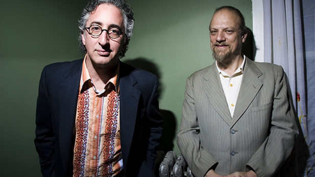 David Greenberger (left) and Paul Cebar.