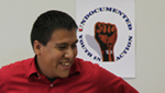 Josue Saldivar explains he is eligible for President Barack Obama's executive order granting deferred immigration enforcement for people who came to the country as children, but who are not here legally.