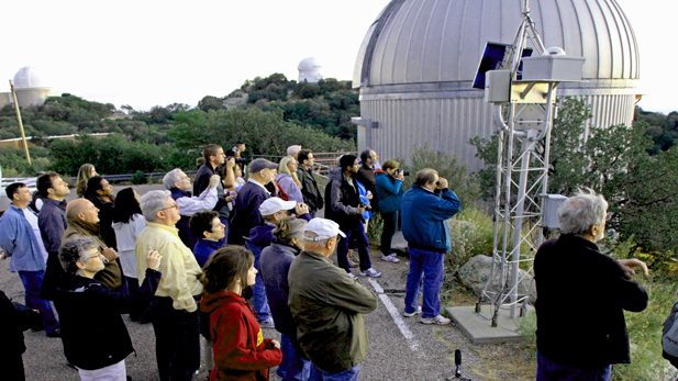 The popular public viewing program at Kitt Peak.