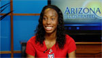 Brigetta Barrett, took a silver medal this summers Olympic games for the women's high jump.
