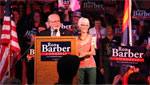 Ron Barber's victory speech during the primaries on August 28, 2012.