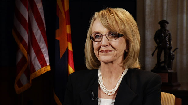 Governor Jan Brewer discusses multiple topics about Arizona.