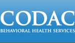 Thumbnail size image of CODAC Behavioral Health Services logo.