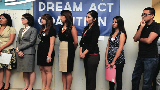 Arizona applicants for Deferred Action for Deportation, in September 2012.