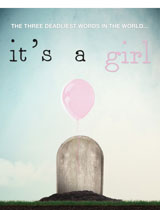 It's a Girl Poster Portrait